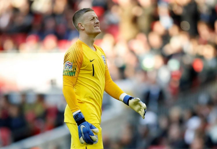 Pickford has secured the number one spot