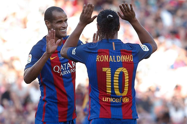 Barcelona are getting some decent use out of these two