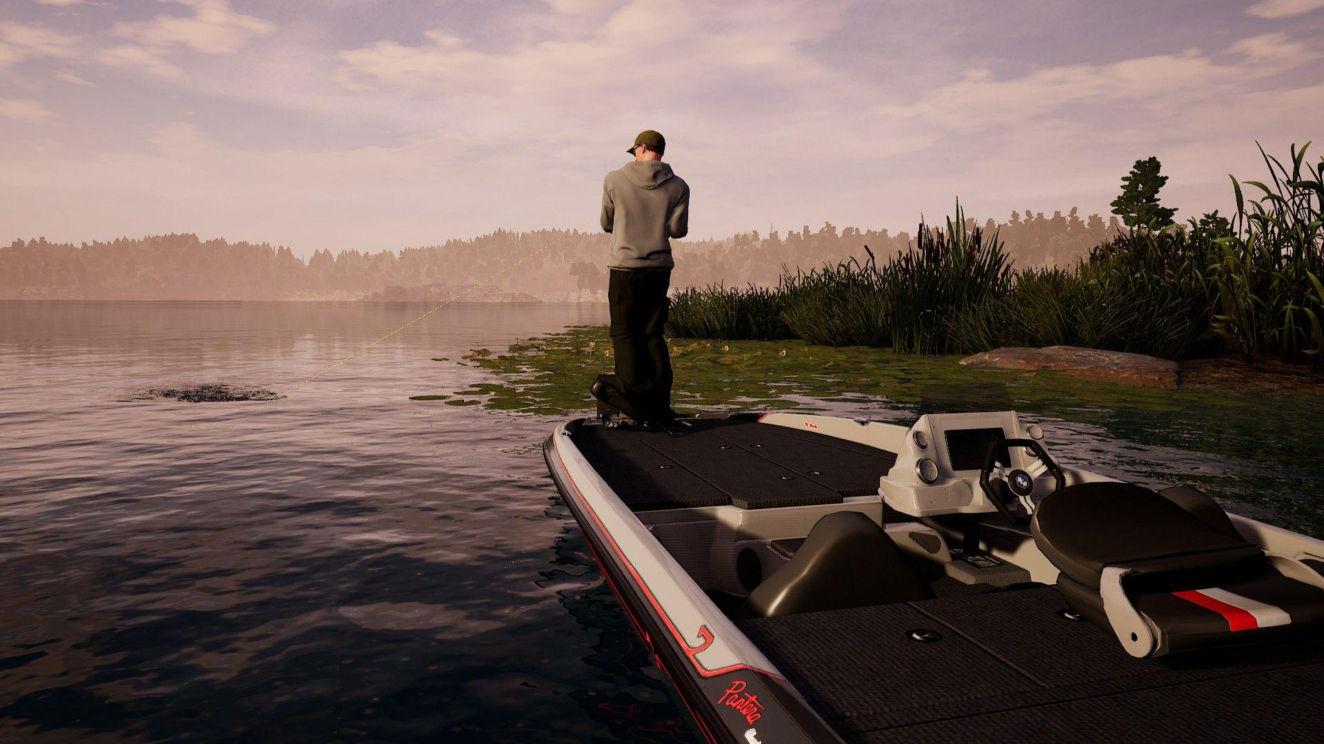 Fishing Sim World can be tackled with up to four friends