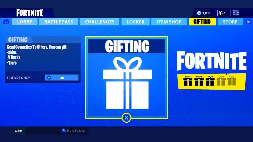 fortnite season 7 new info about the new gifting system have been revealed - how to send gifts in fortnite mobile