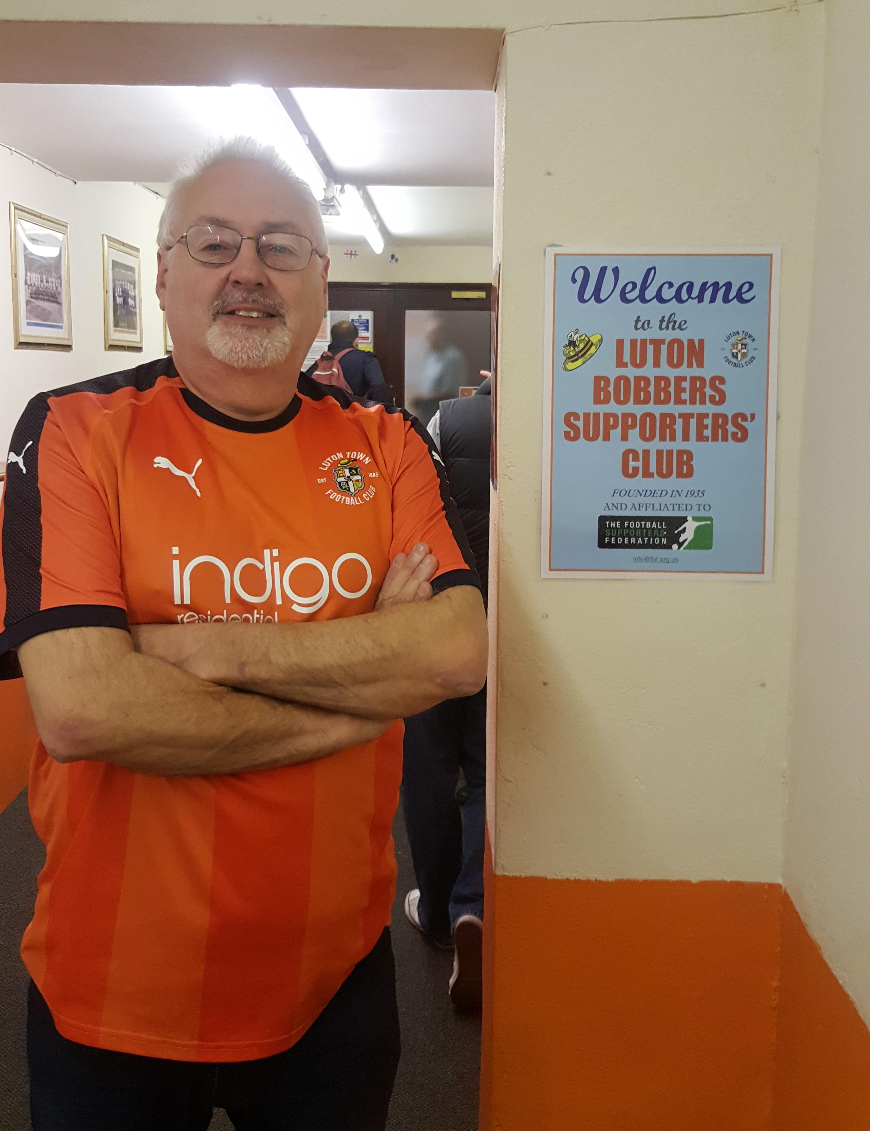 Tony is one of many fans who are a credit to the club