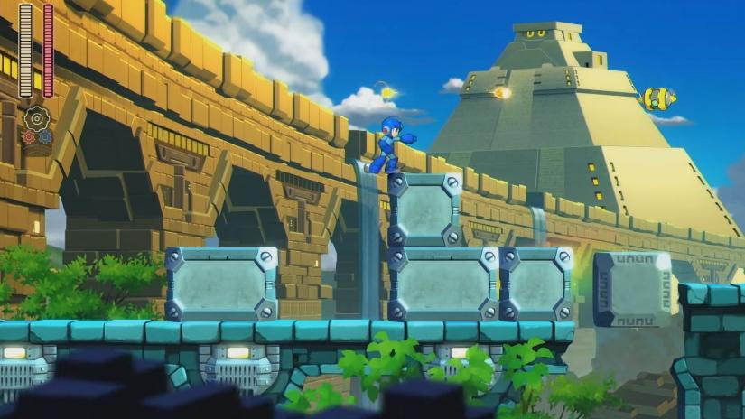 The latest Mega Man game is easy to pick up and play – making it perfect for a commute