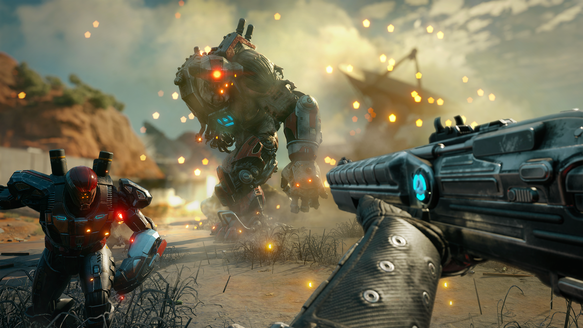 Likely hitting shelves in February, Rage 2 blends OTT action with a vast open world