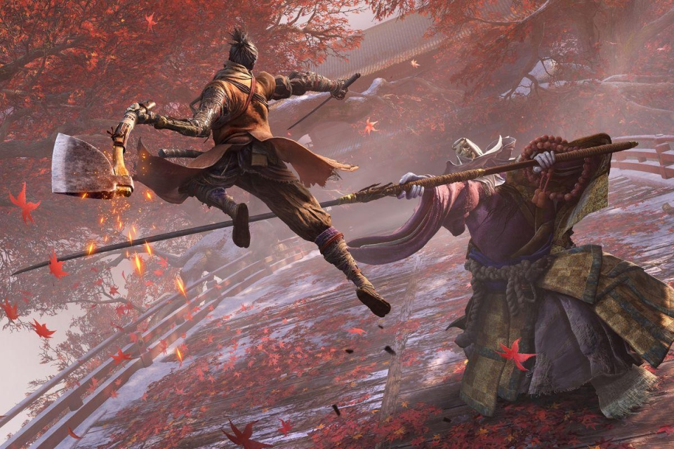 A samurai game from the makers of Bloodborne? Yes please!