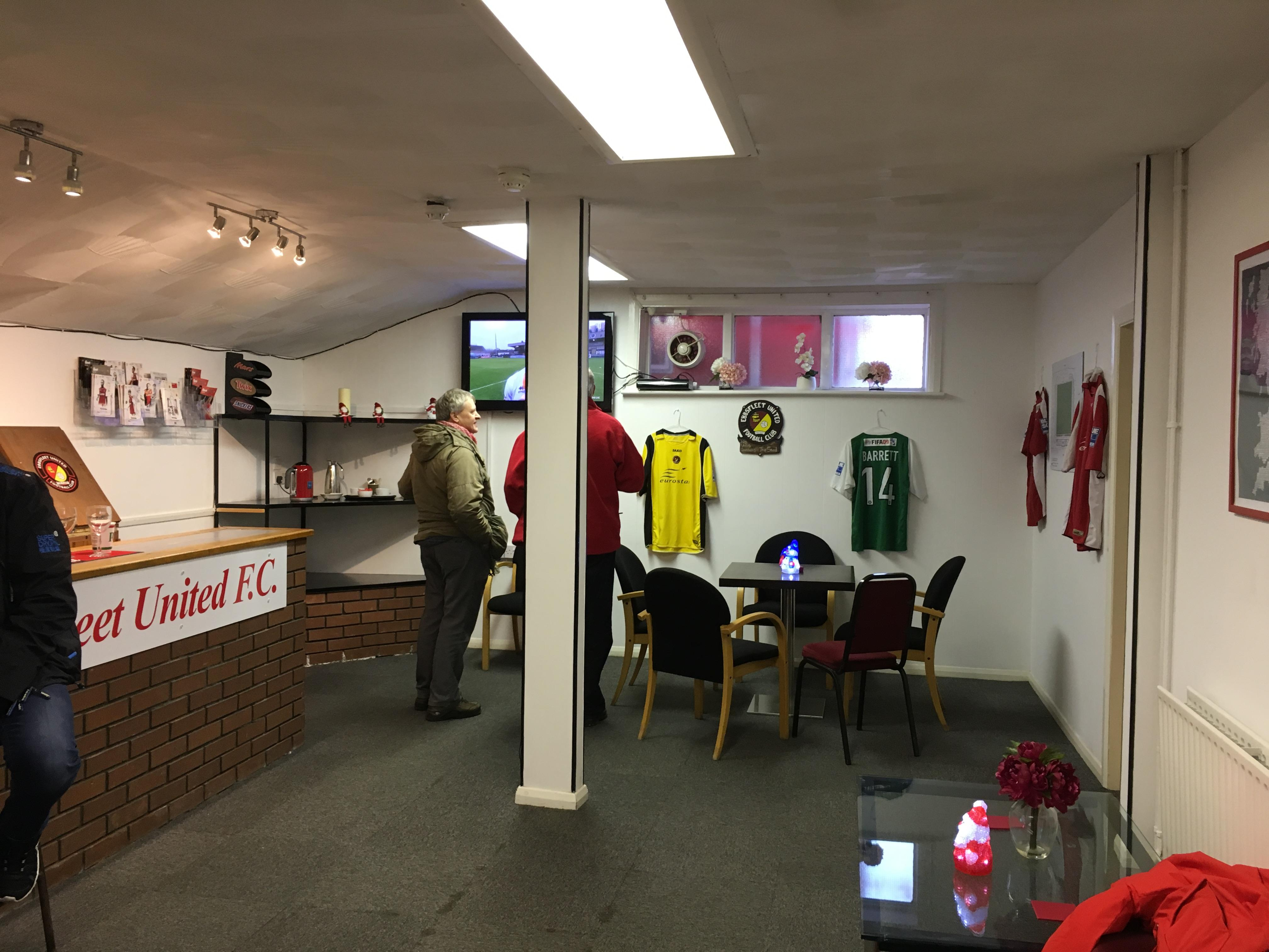 The Fleet Supporters' Trust clubhouse
