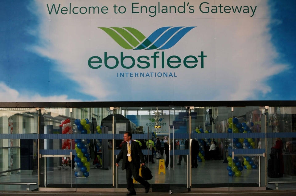 Opened in 2007, Ebbsfleet International station offers high-speed and Eurostar rail services