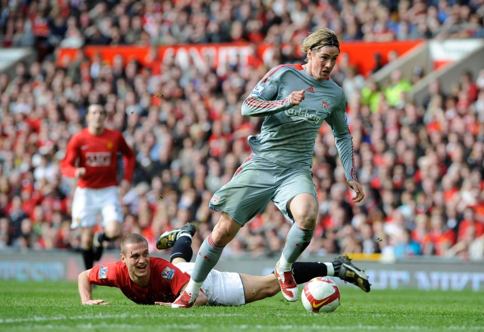 Fernando Torres would often terrorise the defender when the two sides met