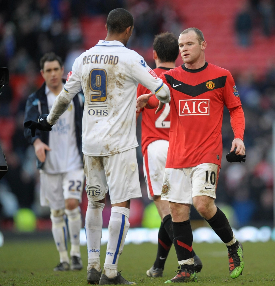 Leeds were in League One at the time while Man United were reigning Premier League champions