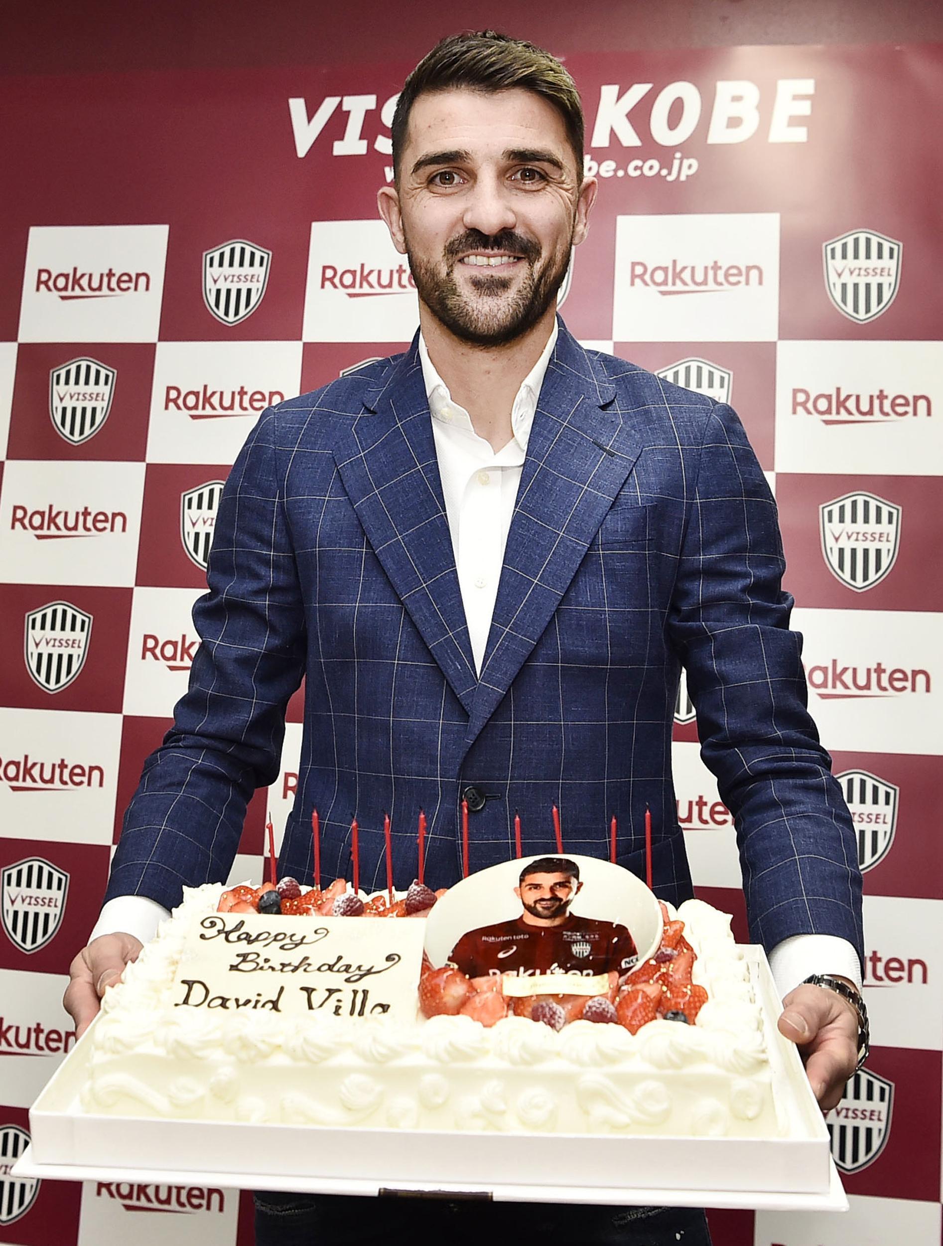Anyone for Villa cake?