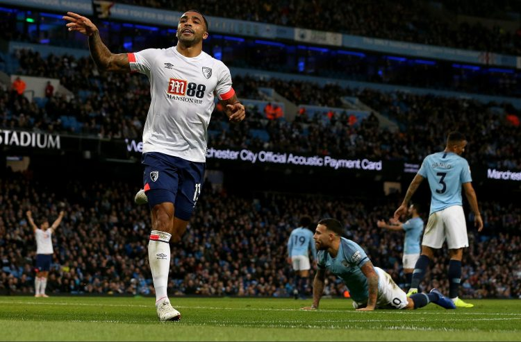Wilson scored away at Man City earlier in the year