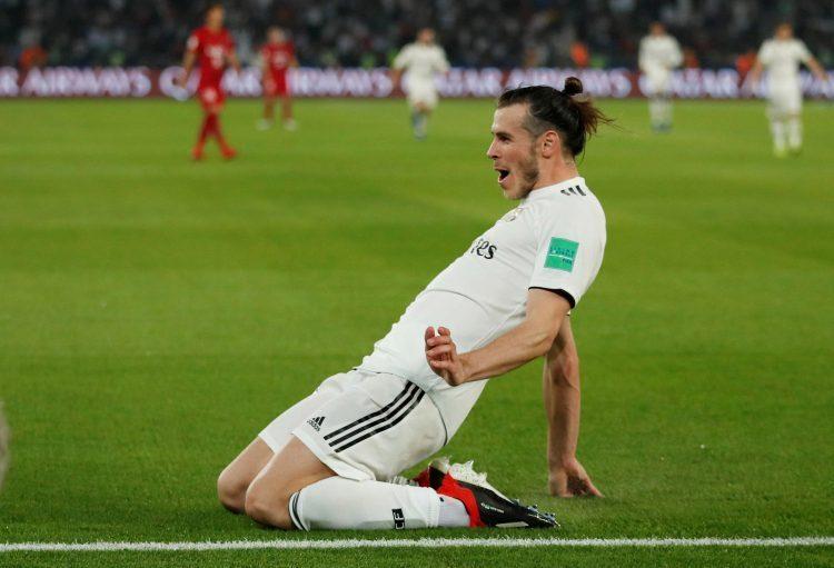 Bale celebrates his third