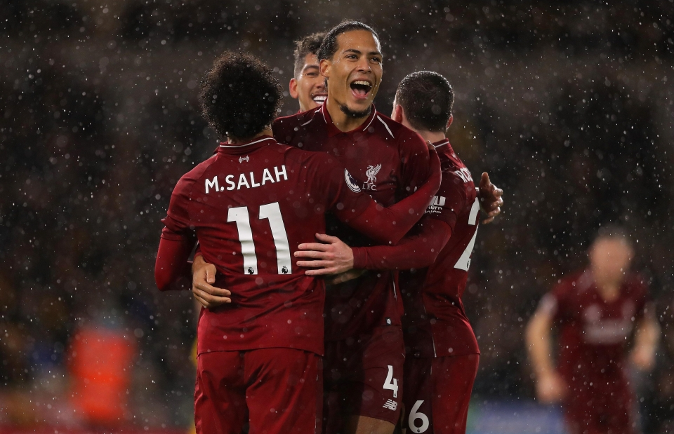 Salah sprinkled some gold dust over his teammate