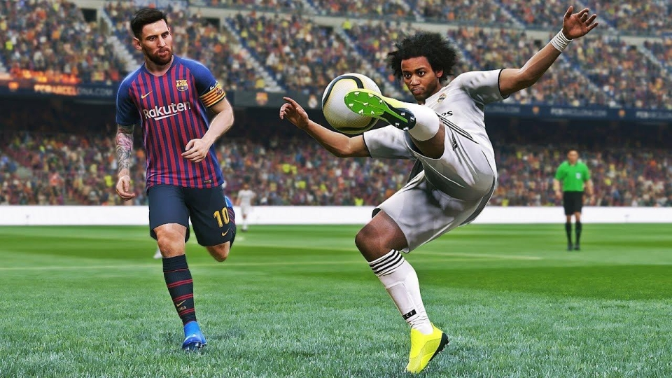 There are rumours PES will drop the Fox Engine for Unreal 4 next year
