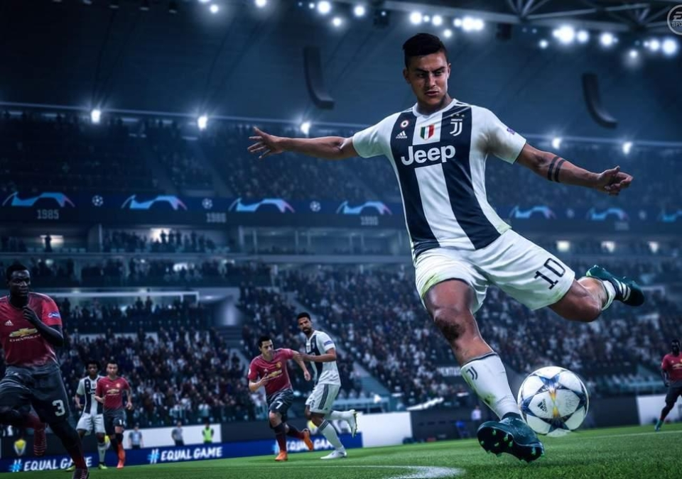 Paulo Dybala in action in EA's latest game