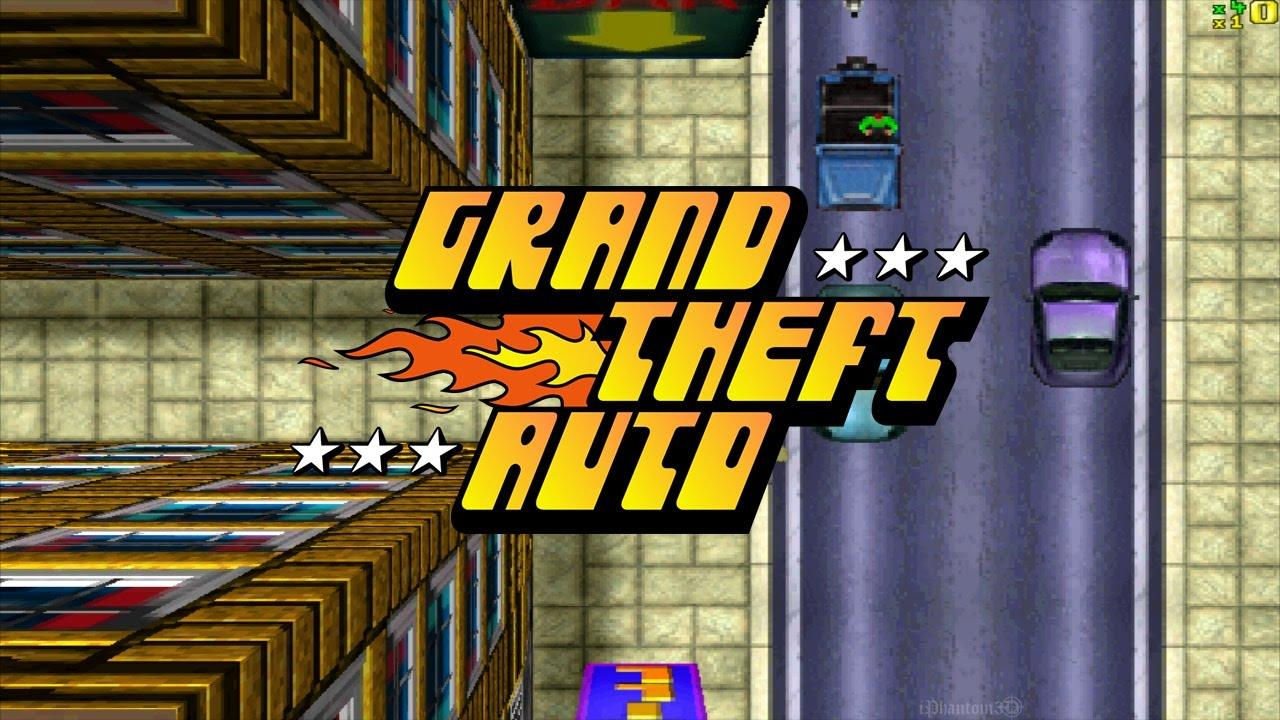 The original GTA is one of the 20 games included on the system