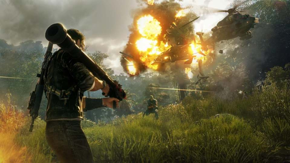 Just Cause 4 is powered by the Apex Engine