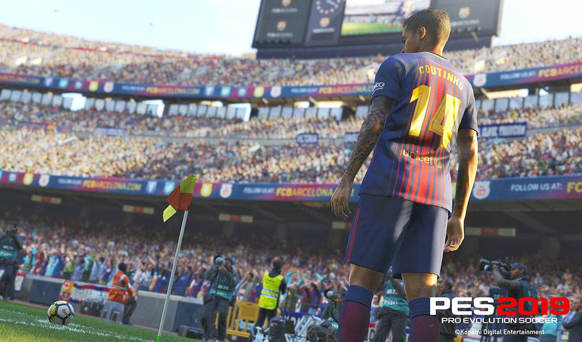 PES is powered by the Fox Engine – although there are rumours it'll be replaced with Unreal 4 next year