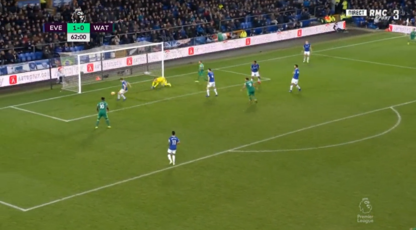 The unlucky Coleman is in the wrong place at the wrong time