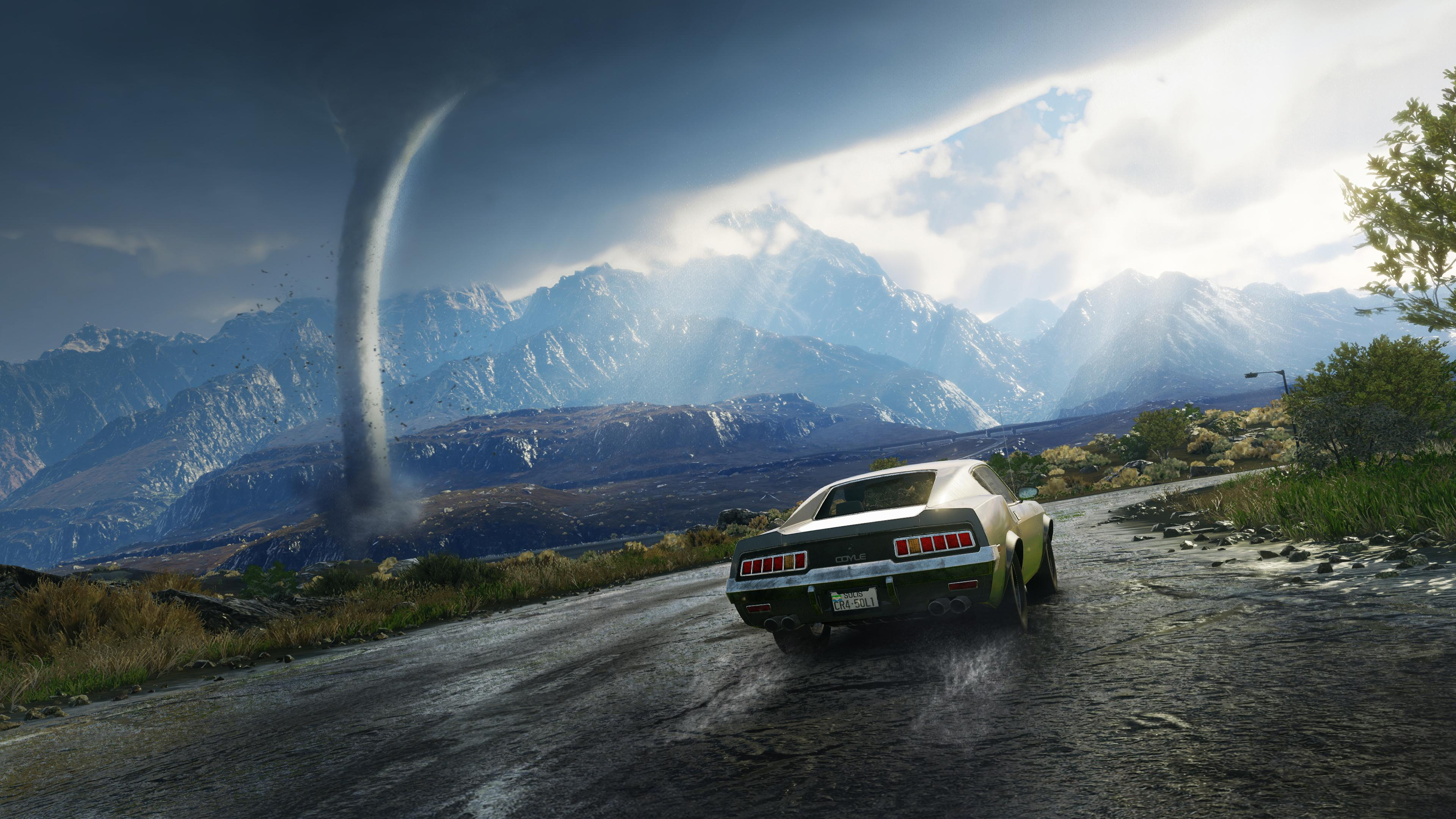 Tornadoes are just one of the impressive weather effects on show