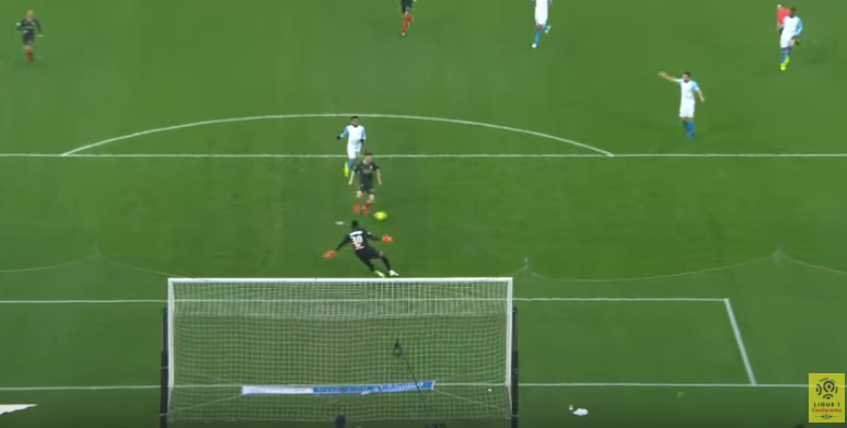 Golovin looked nailed-on to score here