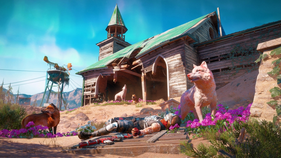 The game plays very much like the last Far Cry – but the expeditions help keep things feeling fresh