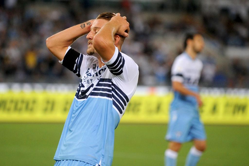 An all too familiar sight for Lazio fans this season