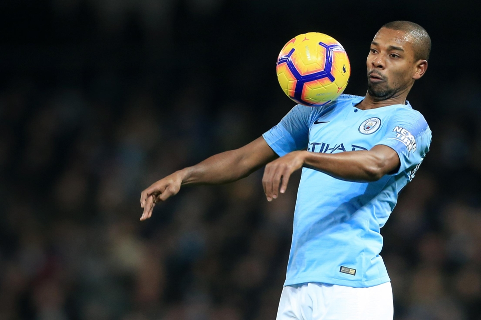Fernandinho's coming to the end of his playing career