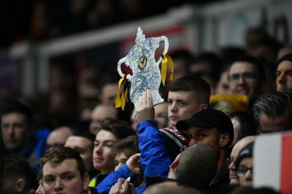 Love a tin foil FA Cup