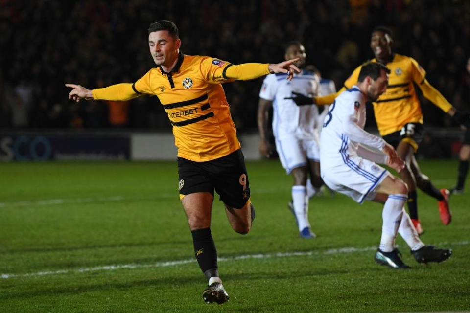 The League Two side were 2-1 winners over Leicester in the third round
