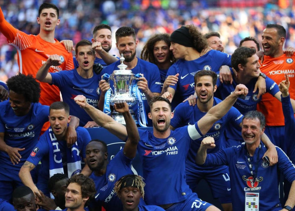 Antonio Conte's side beat Jose Mourinho's men 1-0 in the 2018 final