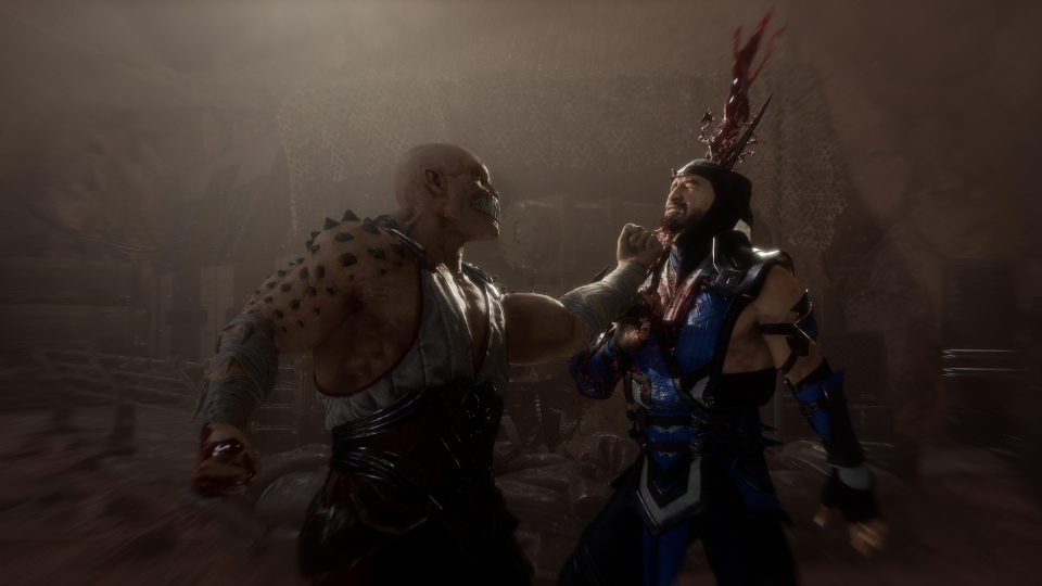 Baraka was missing from Mortal Kombat X but was welcomed back with a roar from the crowd at the reveal