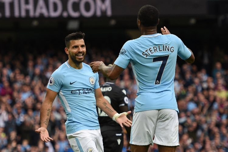 Aguero can also provide for his team-mates