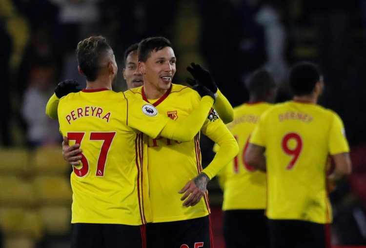 The Watford pair are an unlikely inclusion.