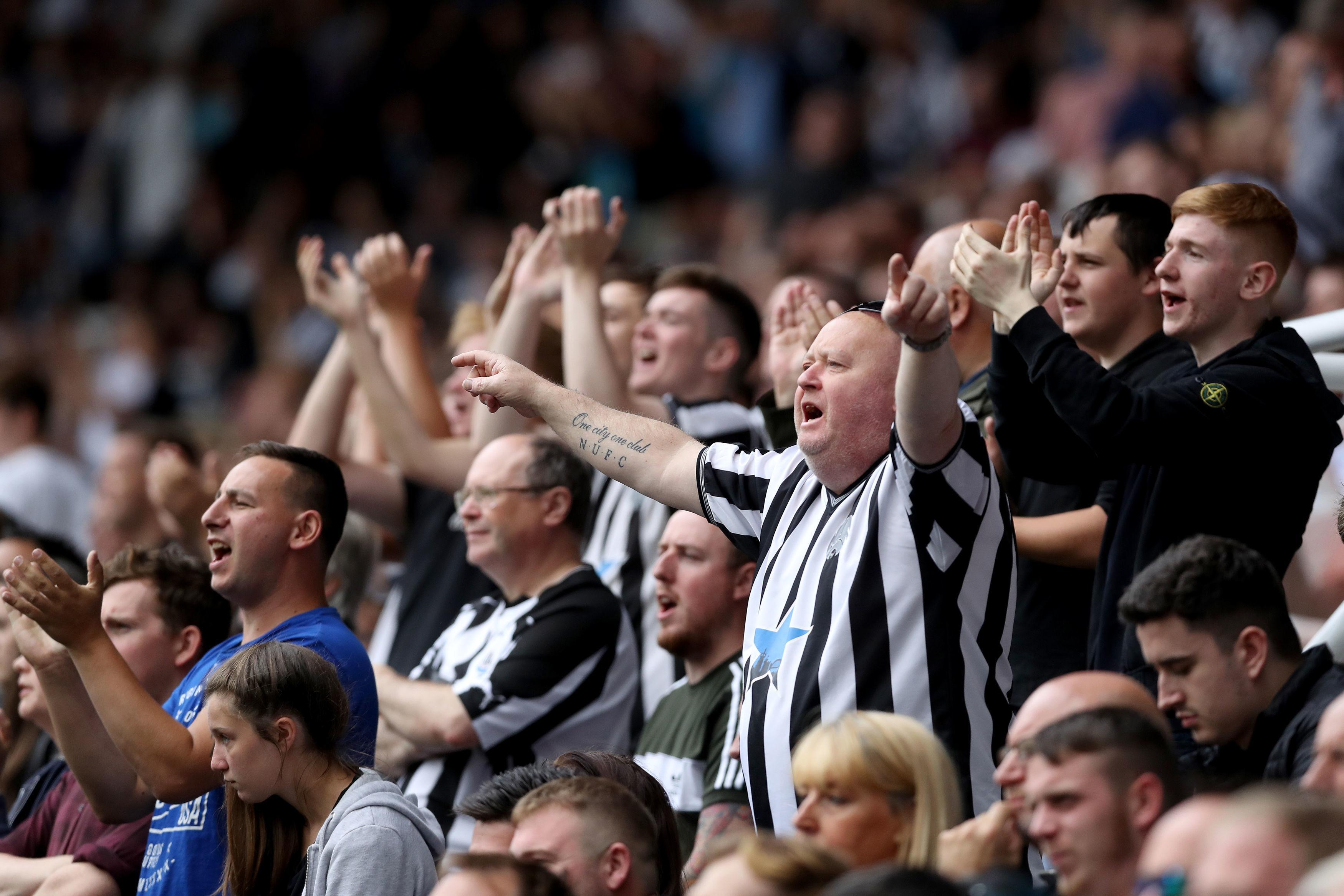 Long-suffering Newcastle fans