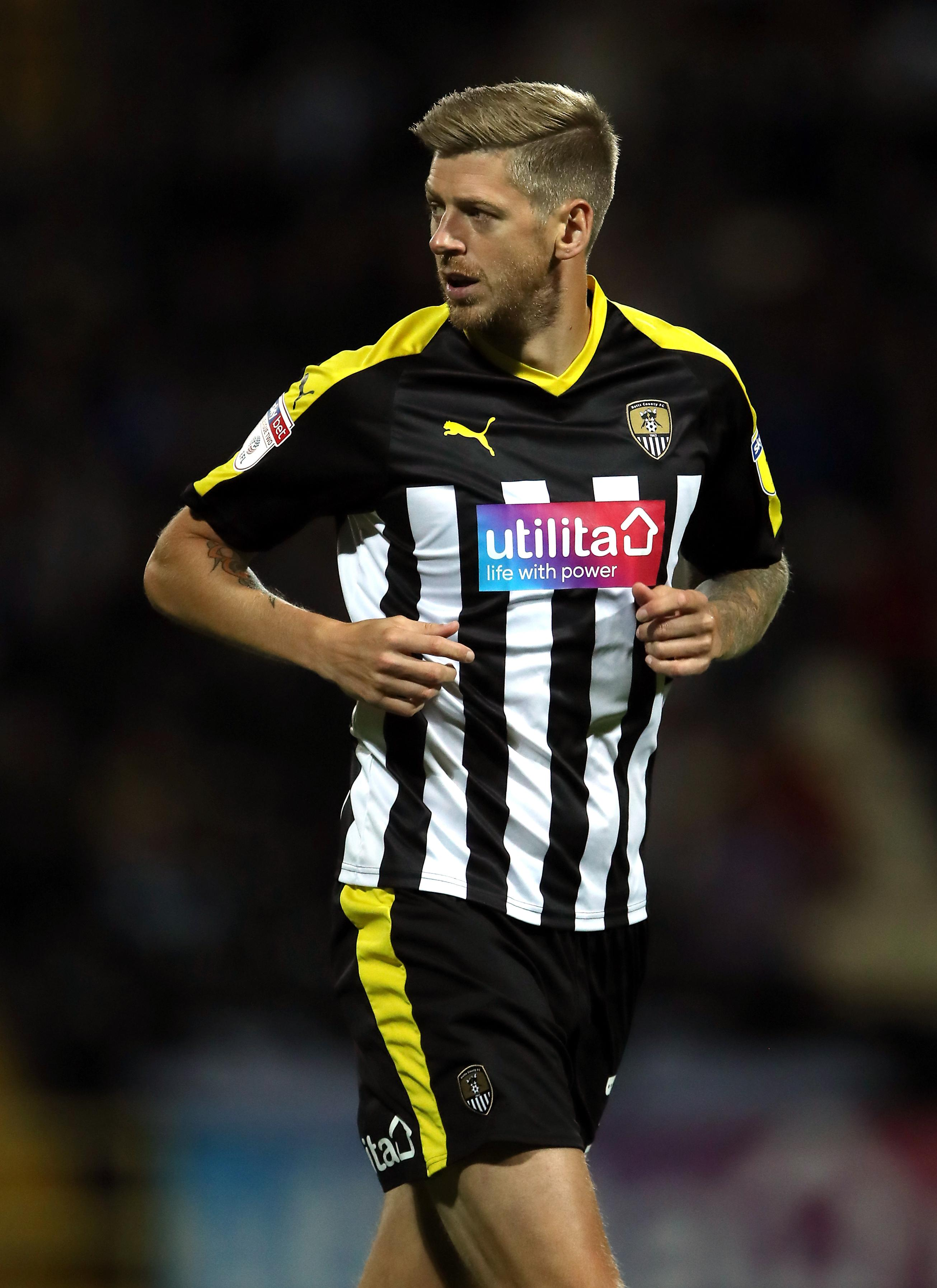 35-year-old Jon Stead has scored nine goals this season, but will it be enough to keep Notts up?