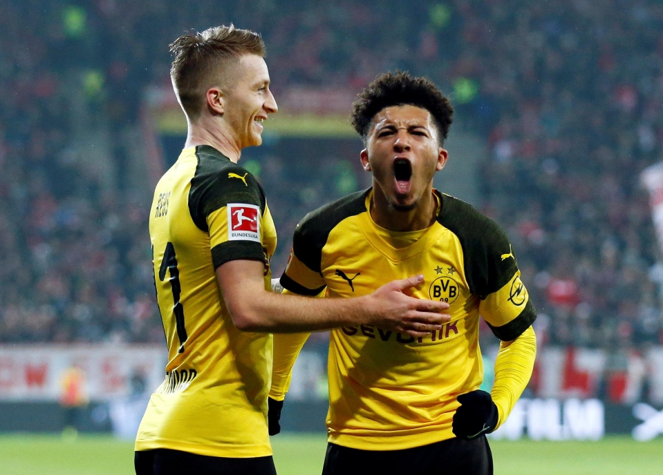 Sancho has undoubtedly benefited from Reus' experience