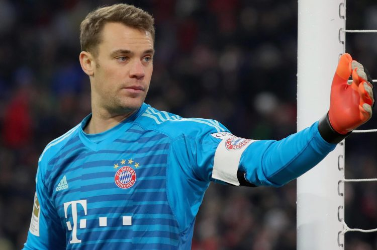 Manuel Neuer has not been in the Bundesliga Team of the Year since his 30th birthday
