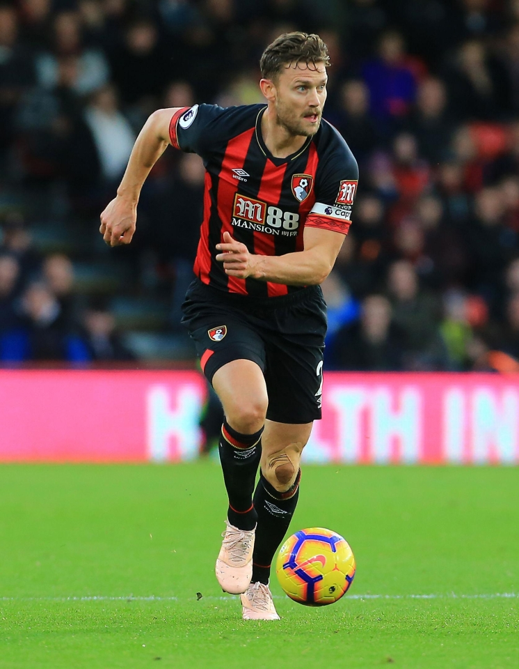 Francis has been through a lot with Bournemouth