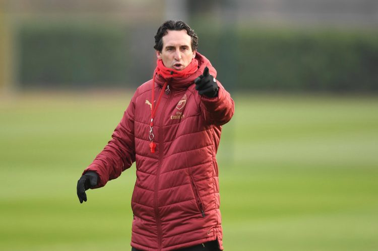 This will be Unai Emery's first FA Cup game