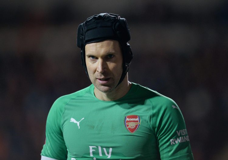 Cech is now Arsenal's number two