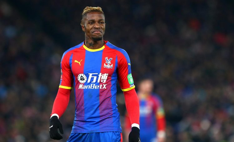 Zaha is one of two Crystal Palace players on this list