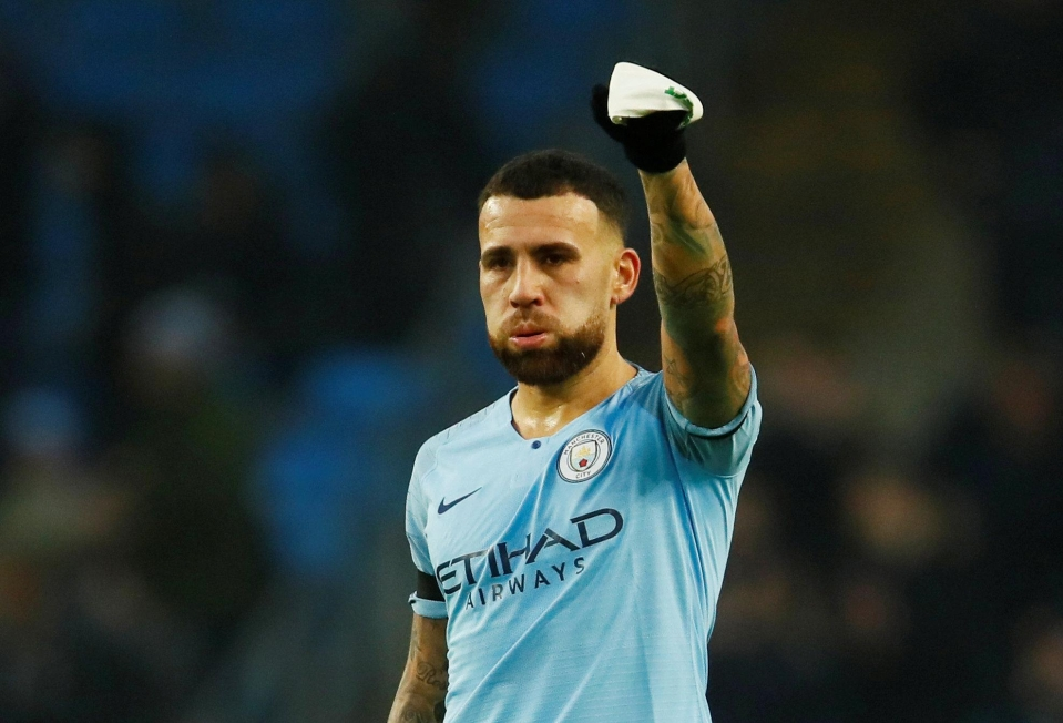 Otamendi's goal was a major help to Stephen