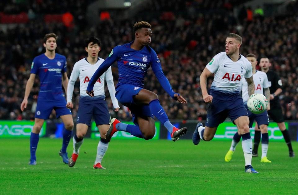 CHO enjoyed a decent run-out at Wembley