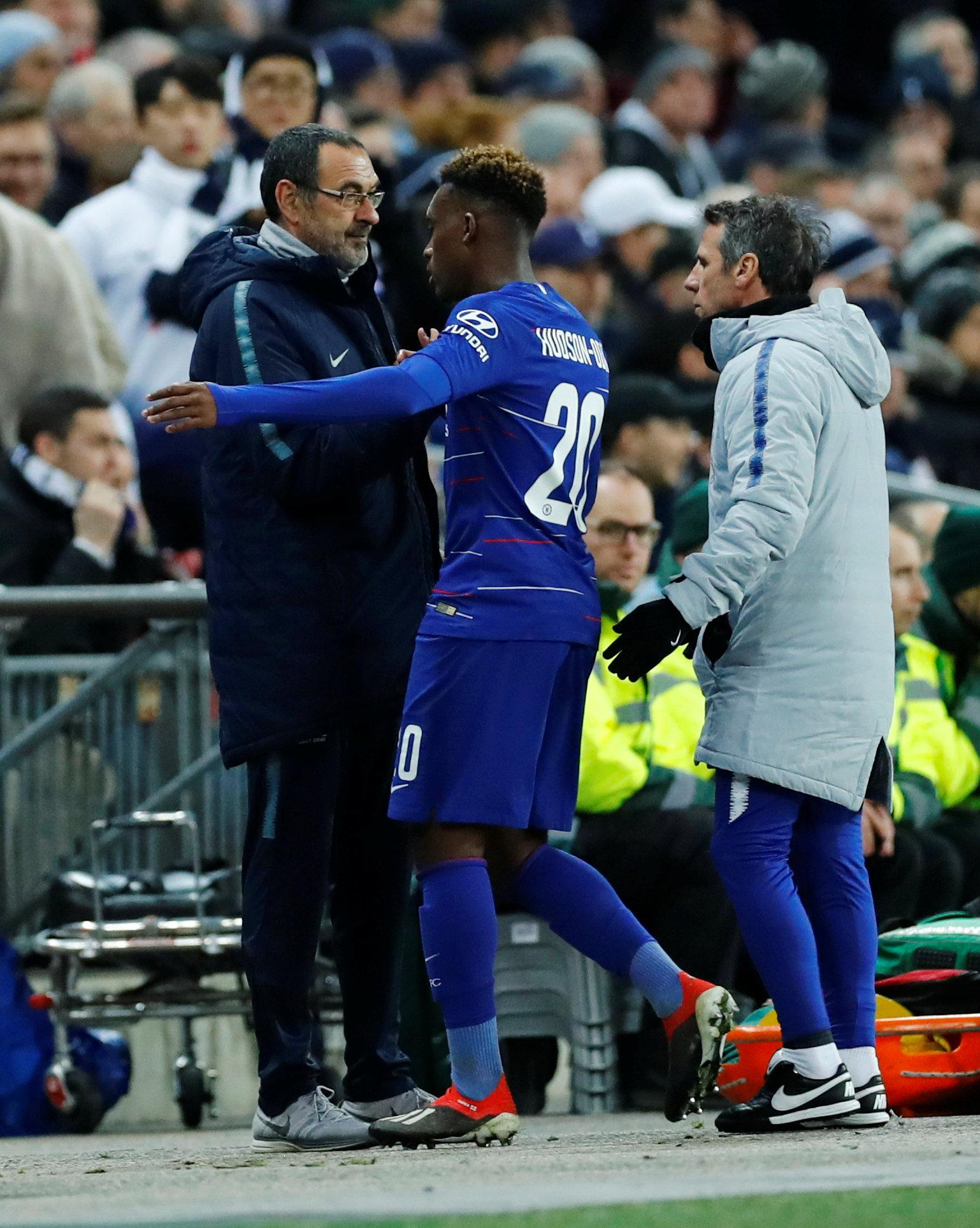 Callum Hudson-Odoi could be on the move this month, after being frustrated with life on the Chelsea bench