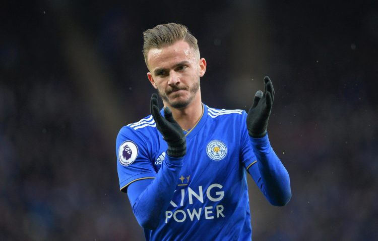 Maddison's debut Premier League season has drawn a lot of attention… And fouls