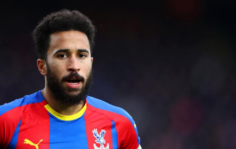 The second Crystal Palace player on the list