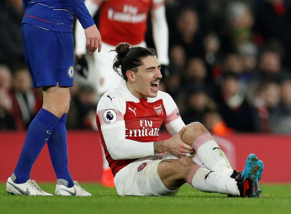Bellerin had looked a rejuvenated player under the new Arsenal regime