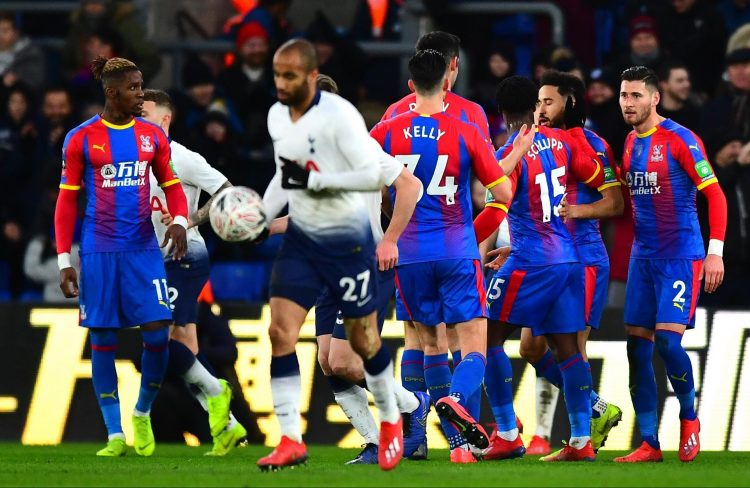 Crystal Palace then knocked Spurs out of the FA Cup