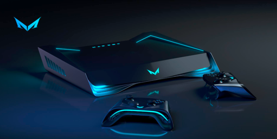With a slick futuristic look, this could be the console of choice next year