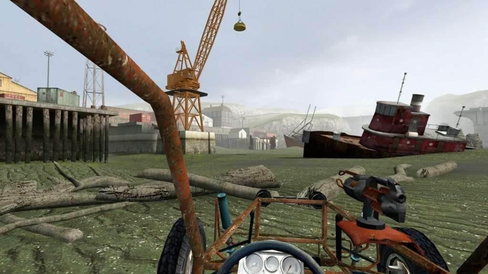 Playing through the summer season level reminded us of Half Life 2 – which can only be a good thing